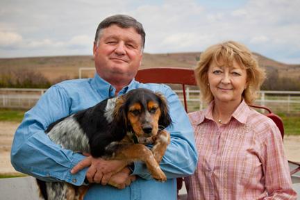Keith & Debra Houghton, Kansas Pheasant Hunting at Ringneck Ranch